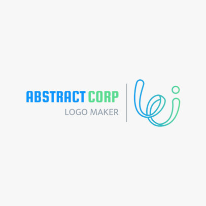 Minimalist Abstract Logo Design Generator 1530d
