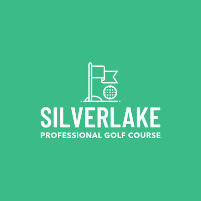 Golf Logo Maker for a Gold Course 1554d