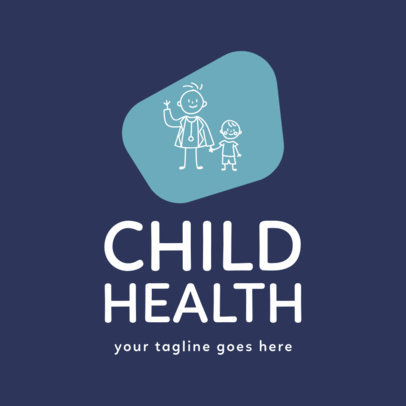 Pediatric Logo Maker for a Pediatrician 1536c