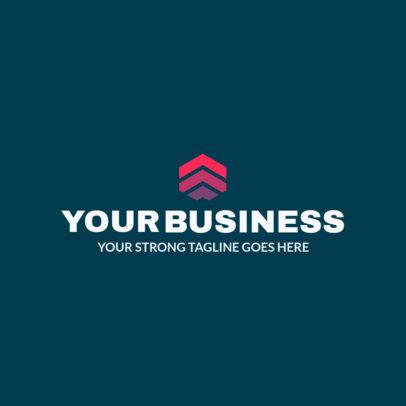 Abstract Logo Design Template to Create a Minimalist Logo 1519e