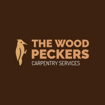 Carpentry Logo Design Creator 1551a