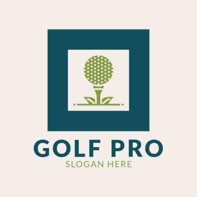 Golf Logo Maker for a Pro Team 1556b