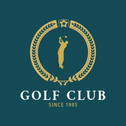Golf Logo Template for a Golf Club 1556c