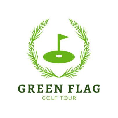 Golf Tour Logo Template 1556d