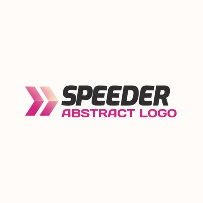 Abstract Logo Design Creator with Arrow Graphics 1531d