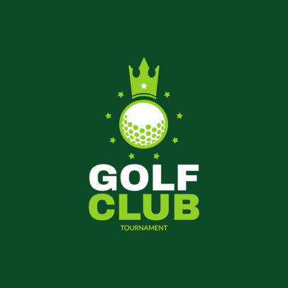 Golf Club Logo Template 1558