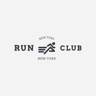 Running Logo Maker 1546a