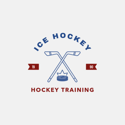 Ice Hockey Online Logo Maker 1563