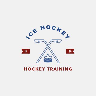 Ice Hockey Online Logo Maker 1563