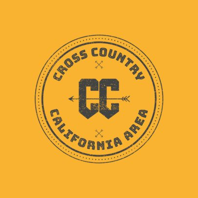 Cross-Country Logo Maker for an XC Logo 1564d