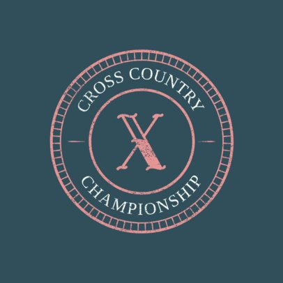 Cross-Country Logo Creator for an XC Logo 1564e
