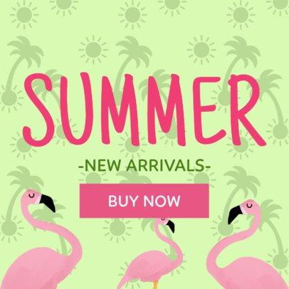 Summer's New Arrivals Online Banner Maker 282a