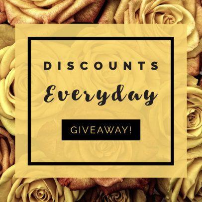 Daily Discount Online Banner Maker 269a