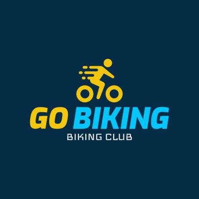 Biking Logo Generator for a Biking Club 1573
