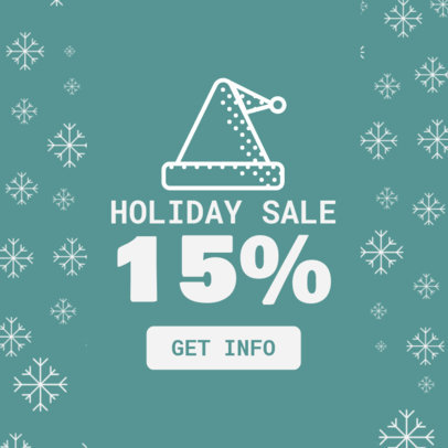 Ad Creator for a Holiday Sale 784d