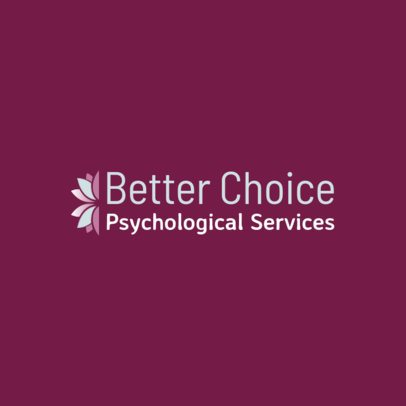 Psychological Services Logo Maker 1526b