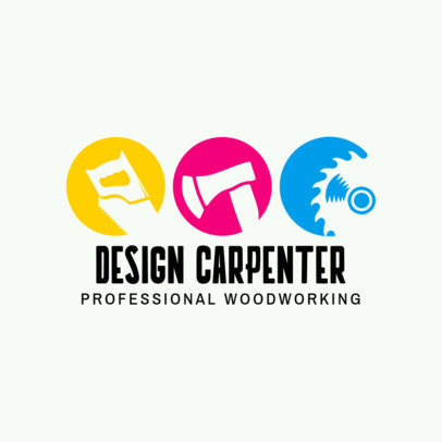 Design Carpenter Logo Template 1547c
