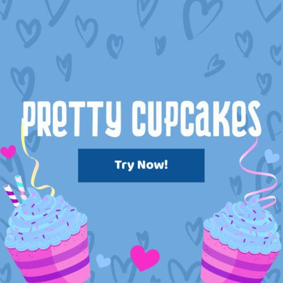 Banner Maker for Cupcake Stores 383c
