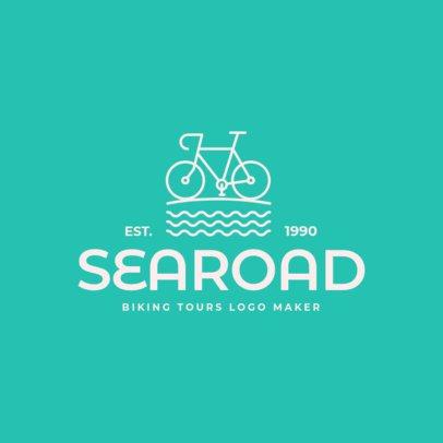 Biking Logo Maker for Biking Tours 1572d