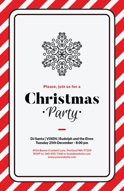 Holiday Flyer Maker for a Big Christmas Party Event 847