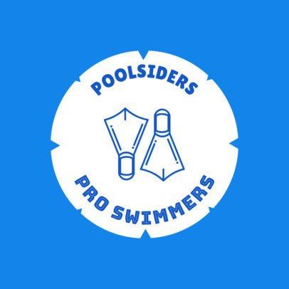 Swimming Logo Creator for Pro Swimmers 1577b