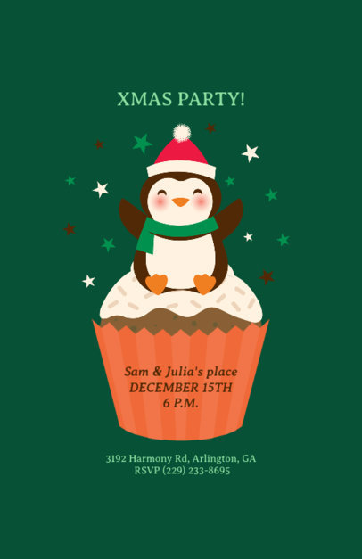 placeit holiday flyer template for christmas party