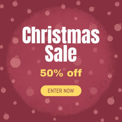Christmas Season Sale Ad Creator 774 a
