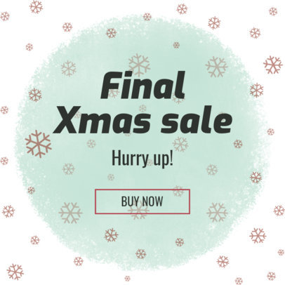 Ad Generator for a Christmas Sale 774 d