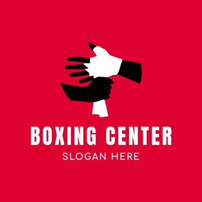 Box Logo Maker for a Boxing Center 1580b