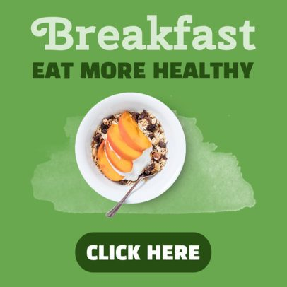 Healthy Eating Online Banner Generator 360a