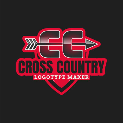 Cross Country Logo Creator 1567