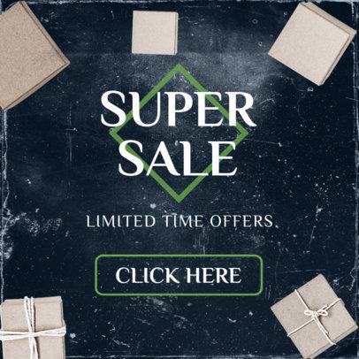 Super Sale Ad Maker 750a