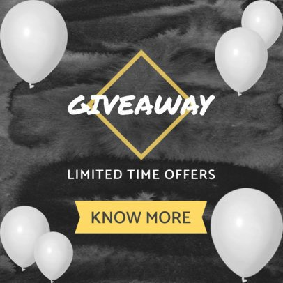 Ad Creator for a Giveaway 750c