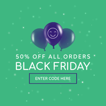 Ad Banner Maker For Black Friday Coupon Code 749c