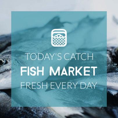 Fish Market Banner Maker  382b