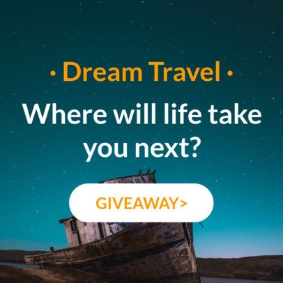 Travel Online Banner Ad Generator 16610a