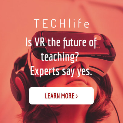 Online Banner Creator for Tech and VR Education 16610d