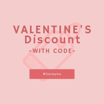 Valentine's Day Ad Banner Maker 744b