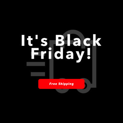 Black Friday Sale Online Banner Maker 744c