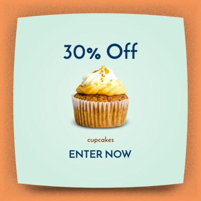 Cupcake Shop Ad Banner Maker 518c