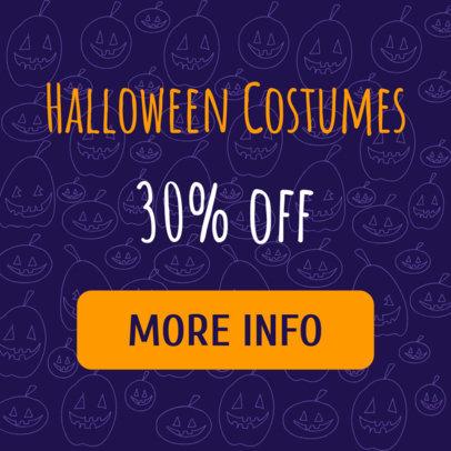 Banner Maker for Halloween Costume Sale 288d