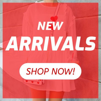 Ad Banner Template for New Arrivals 248e