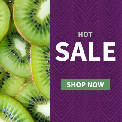 Fruit Sale Ad Banner Template 610d