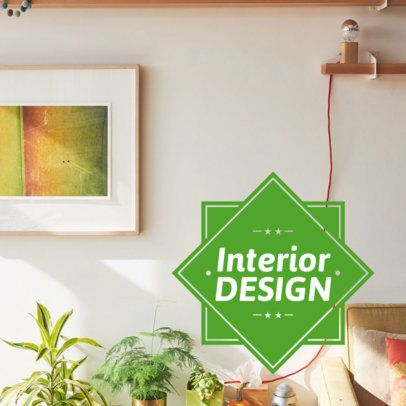 Lively Banner Ad Maker for Interior Design 16586c