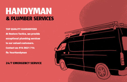 Plumber Flyer Maker for Handyman and Plumbing Services 716c