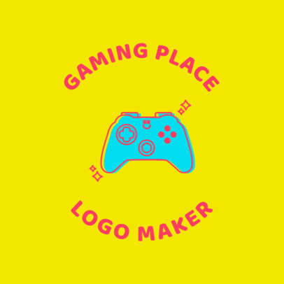 Gaming Logo Maker with Retro Gaming Graphics 1636