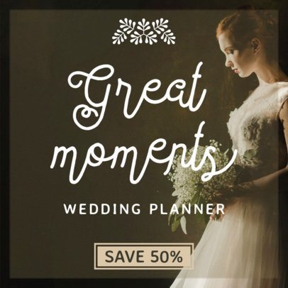 Banner Generator for Wedding Planners 366a