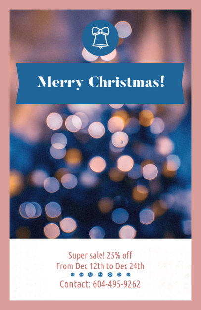 Christmas Flyer Maker for a Sale 854b