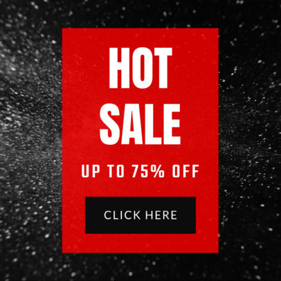 Ad Template for a Hot Sale Offer 752d