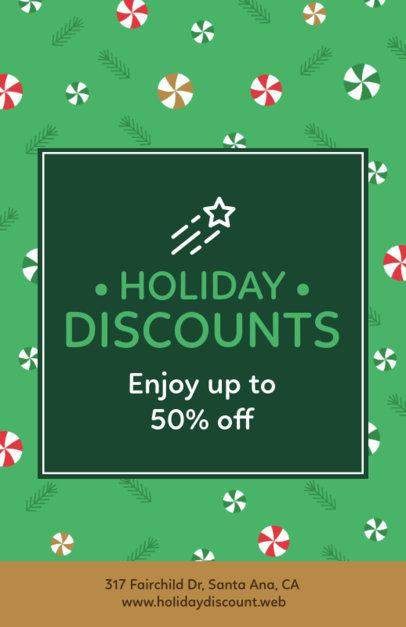 Xmas Flyer Generator for Holiday Discounts 851e
